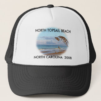 TOPSAIL BEACH 1, NORTH TOPSAIL BEACH, NORTH CAR... TRUCKER HAT