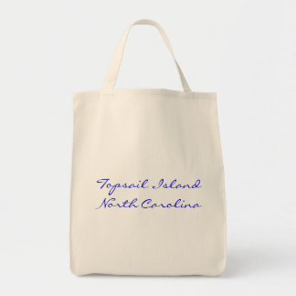 Topsail Island Grocery Store Tote Bag
