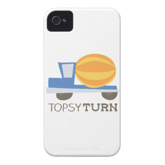 Topsy Turn iPhone 4 Covers