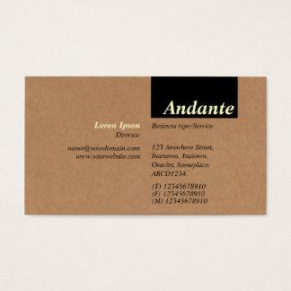 TopTag v3 - Cardboard Box Texture Business Card