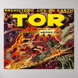 TOR Comic Book Poster
