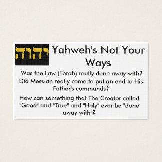 Torah Tract Cards