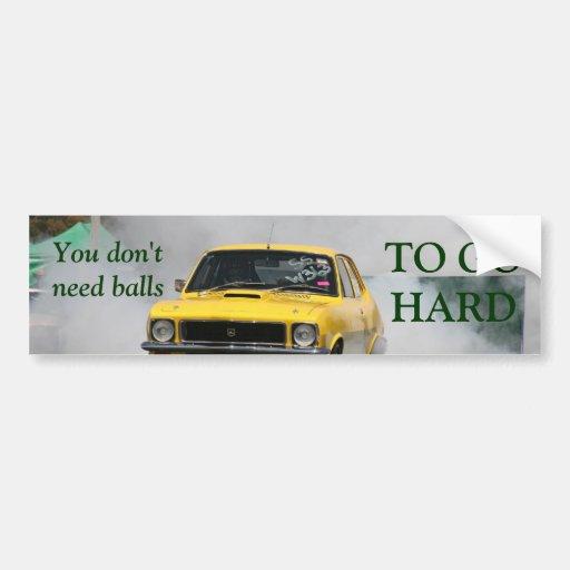 Torana bumper sticker