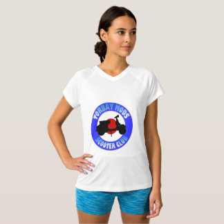 Torbay Mods Scooter Club Ladies T Shirt