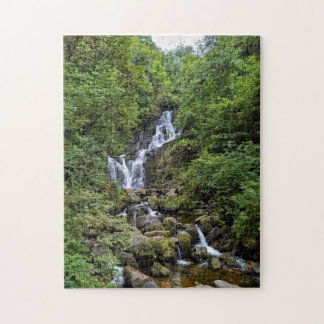 Torc water fall in Kerry, Ireland (ring OF Kerry) Jigsaw Puzzle
