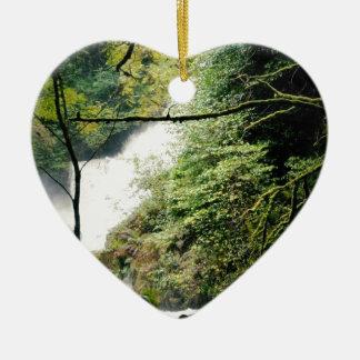 Torc Waterfall Ceramic Ornament