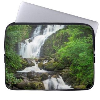 Torc waterfall scenic, Ireland Laptop Sleeve