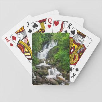 Torc waterfall scenic, Ireland Poker Deck