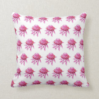 Torch Ginger Cushion on White