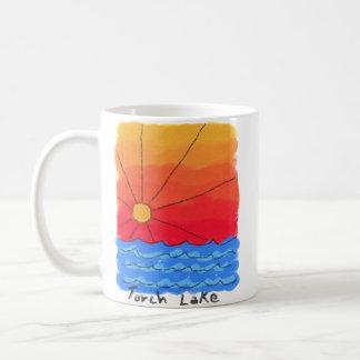 Torch Lake Sunrise Coffee Mug