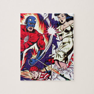 Torch Man and Torch Boy Jigsaw Puzzle