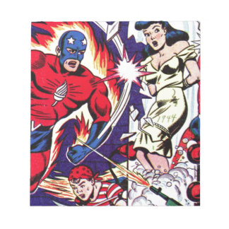 Torch Man and Torch Boy Notepad