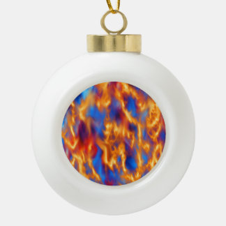 Torched by Kenneth Yoncich Ceramic Ball Decoration