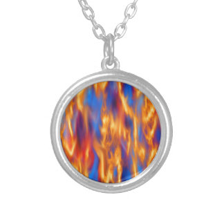 Torched by Kenneth Yoncich Silver Plated Necklace