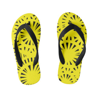 """Torgersen"" Adult Flip Flops Yellow Thongs"