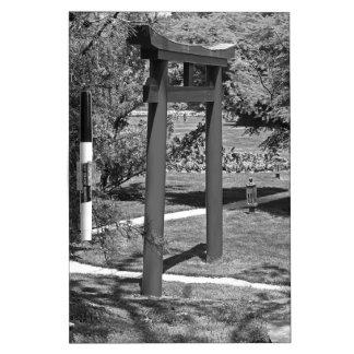Torii Gate- horizontal Dry Erase Whiteboard