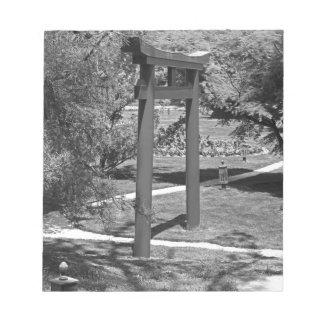 Torii Gate- horizontal Notepads