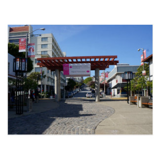 Torii Gate Japantown, San Francisco Postcard
