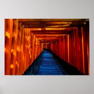 Torii Gate Path Poster