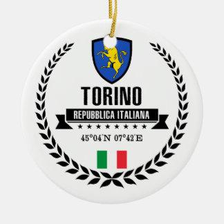 Torino Ceramic Ornament