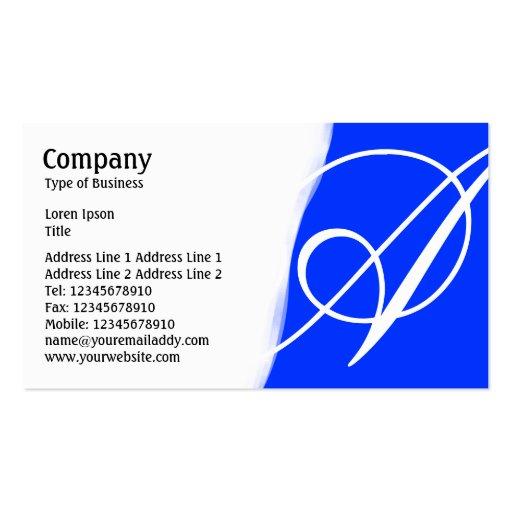 Torn Away - Blue Business Card