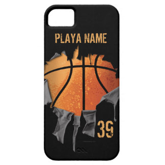 Torn Basketball Barely There iPhone 5 Case