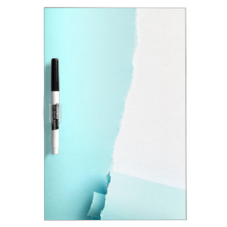 Torn colored paper Dry-Erase whiteboard