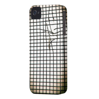 Torn Fly Screen iPhone 4 Case-Mate Cases