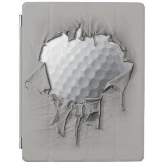 Torn Golf Ball iPad Cover