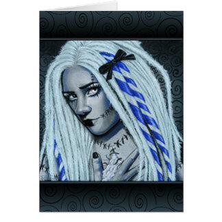 Torn Gothic Ragdoll Art Card