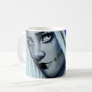 Torn Gothic Ragdoll Art Mug