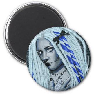 Torn Gothic Ragdoll Fantasy Art Magnet