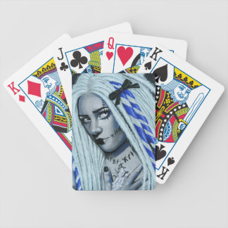Torn Gothic Ragdoll Fantasy Art Playing Cards