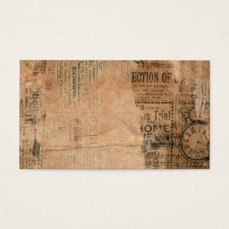 Torn Grungy Old Newspaper Background
