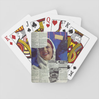 Torn Pages Playing Cards