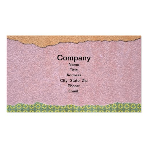 Torn Paper Business Card Templates