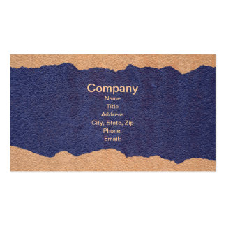 Torn Paper Double-Sided Standard Business Cards (Pack Of 100)