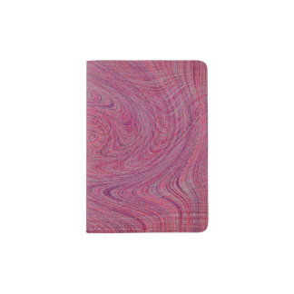 TORN-TWISTED AND SCREWED PASSPORT HOLDER