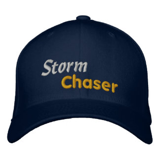 Tornado Bad Weather Storm Chaser Storm Spotter Embroidered Hat