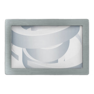 Tornado Cyclone Hurricane Twister 3d Icon Rectangular Belt Buckle