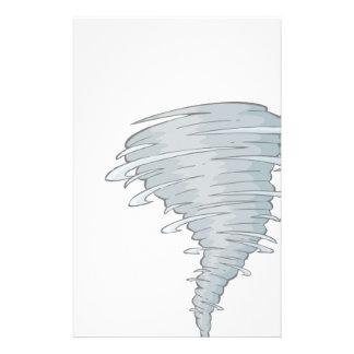 Tornado Drawing Stationery