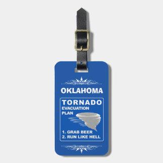 Tornado Evacuation Plan ;-) Luggage Tag