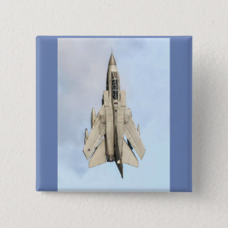 Tornado Fighter jet 15 Cm Square Badge