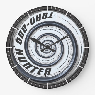 Tornado Hunter Large Clock