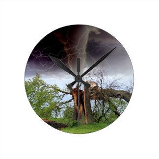 Tornado Round Clock