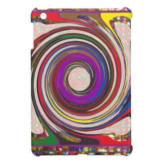 Tornado Whirlwind HighTide Waves colourful art iPad Mini Case