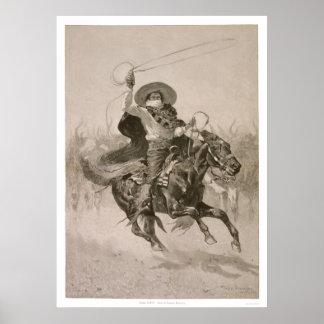 Toro, Toro by Frederic Remington  Poster