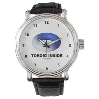Toroid Inside (Blue Torus) Wristwatches