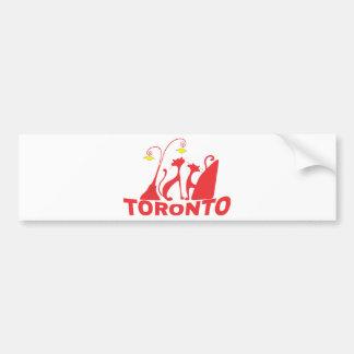 Toronto 1 bumper sticker