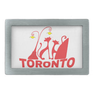 Toronto 1 rectangular belt buckles